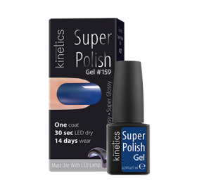 Super Polish Fashion Blue Vernis semi permanent Kinetics