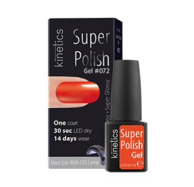 Super Polish Flaming Flame Vernis semi permanent Kinetics