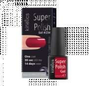Super Polish Red Gown Vernis semi permanent Kinetics