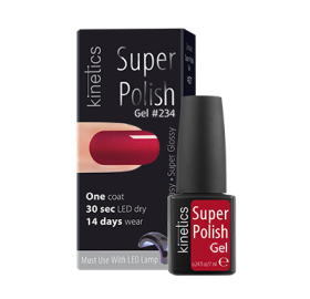 Super Polish Red Gown