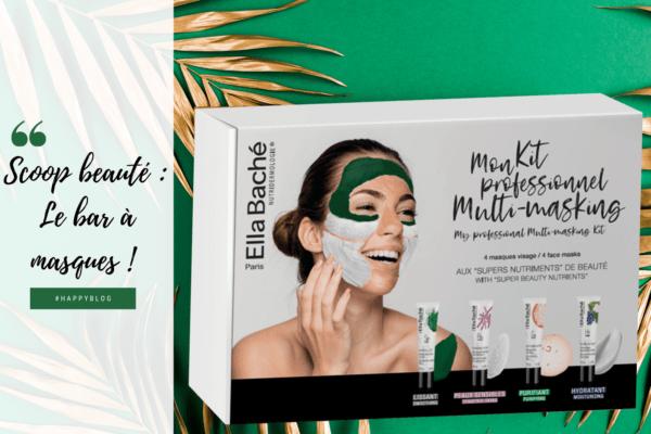 Scoop beauté : Happy Beauty lance son bar à masques!