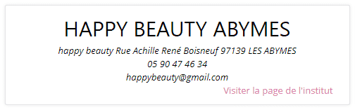 happy beauty Abymes